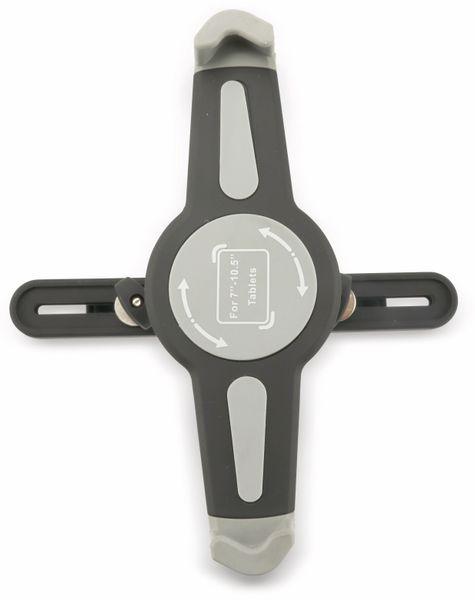 Kopfstützenhalterung für Tablet 17,78...26,42 cm, mit KFZ-USB-Lader 2,1A/1A - Produktbild 4