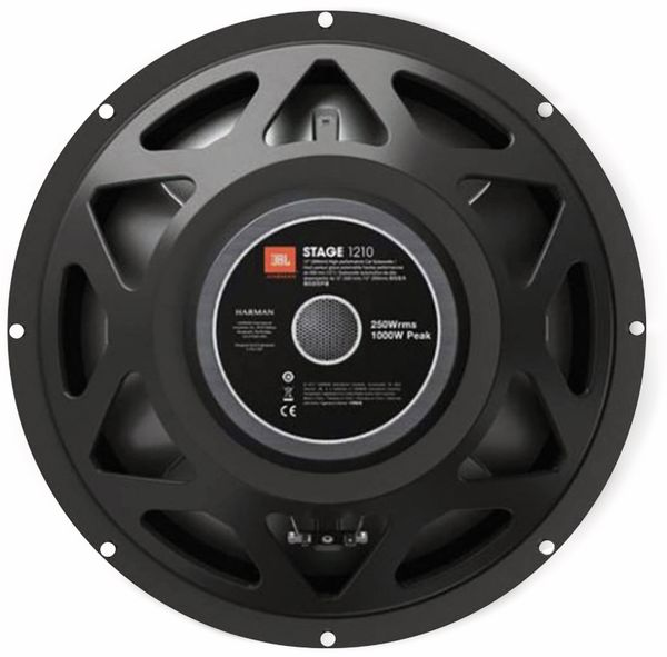 "Subwoofer JBL Stage 1210, 20/60 W, 1 Stück, 12"" - Produktbild 2"