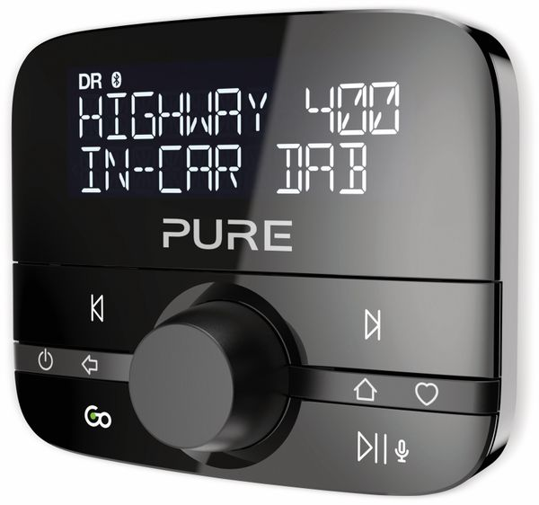 DAB-KFZ Empfänger PURE Highway 400 V2, Bluetooth - Produktbild 2