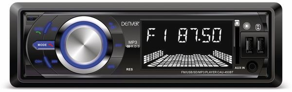 Autoradio DENVER CAU-450BT, Bluetooth