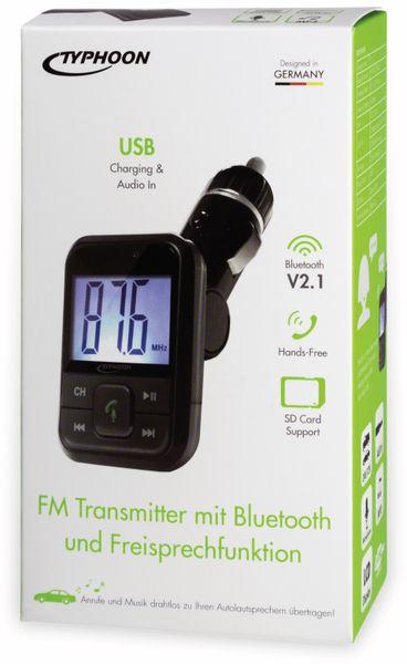 FM-Transmitter TYPHOON TM036 - Produktbild 4