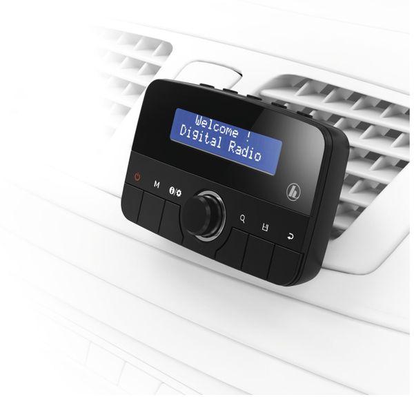 DAB-KFZ Empfänger HAMA CDR70B, Bluetooth - Produktbild 4