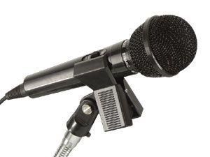 Mikrofon-Klemmhalter