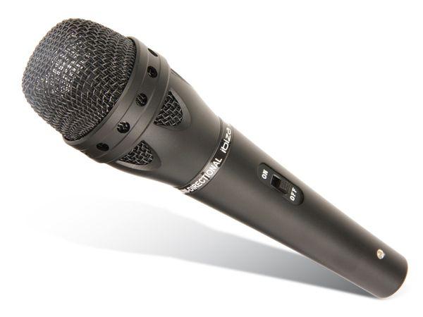 Dynamisches Mikrofon IBIZA JM369FC - Produktbild 1
