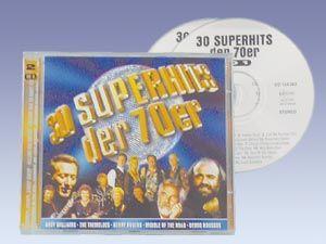 """CD-Set """"30 Superhits der 70er"""""""