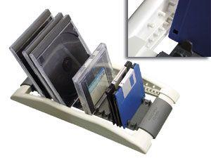 CD-Zip-Disketten-Ständer