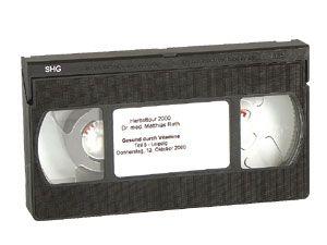 VHS-Videocassette