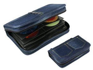 "CD-Tasche HAMA ""Jeans"""