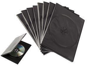 DVD-Leerhüllen Slimline - einfach