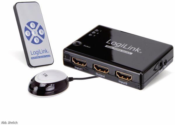 HDMI-Umschalter LOGILINK HD0003, 3-fach