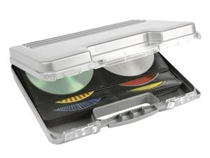 CD-Koffer HAMA, silber - Produktbild 1