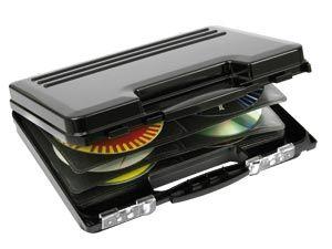 CD-Koffer HAMA, schwarz - Produktbild 1