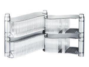 CD-Regal HAMA SilverLine Flexus - Produktbild 1