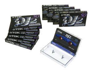 Audio-Kassetten TDK DJ2-50EA