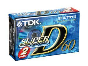 Audio-Kassetten TDK SD-60EB2