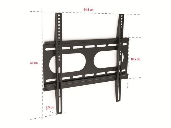 Wandhalterung für Flachbild-Fernseher 58...107 cm - Produktbild 3