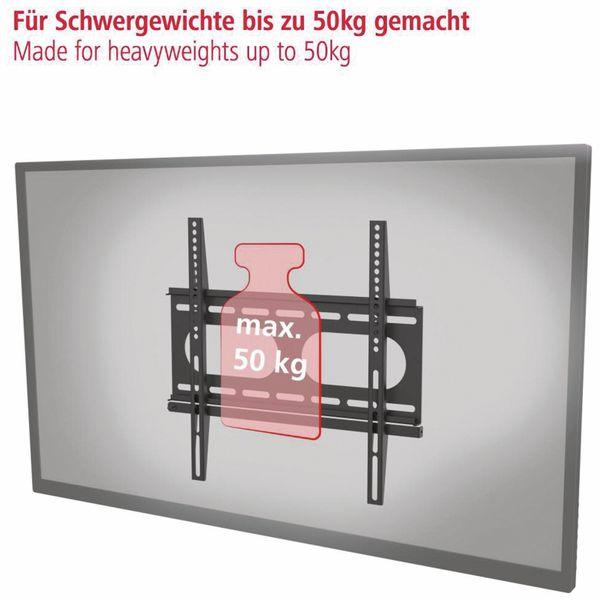 """Wandhalterung HAMA FIX, 142 cm (56""""), Schwarz - Produktbild 5"""
