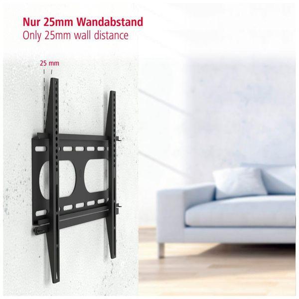 """Wandhalterung HAMA FIX, 142 cm (56""""), Schwarz - Produktbild 7"""