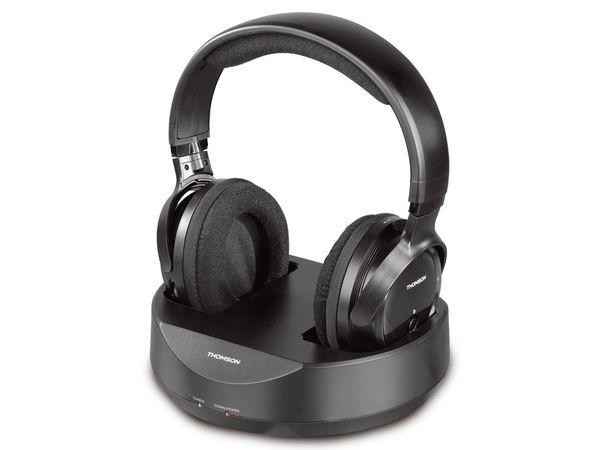 Stereo-Funkkopfhörer THOMSON WHP3001BK PLL.AU.
