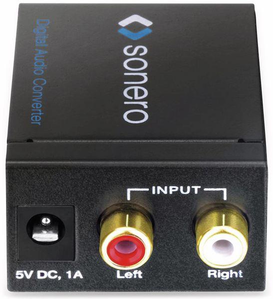 Audio-Konverter SONERO X-AC000, Cinch zu Koax und Toslink - Produktbild 2