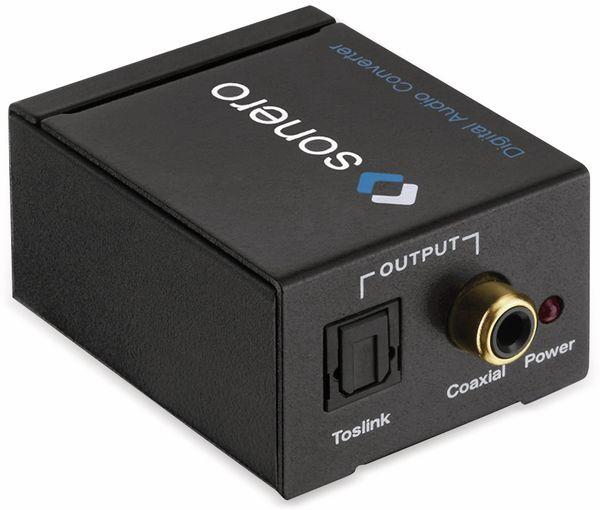 Audio-Konverter SONERO X-AC000, Cinch zu Koax und Toslink - Produktbild 3