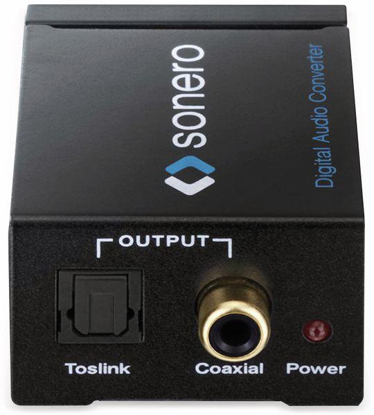 Audio-Konverter SONERO X-AC000, Cinch zu Koax und Toslink - Produktbild 5