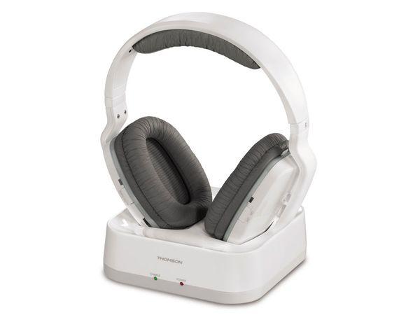 Stereo-Funkkopfhörer THOMSON WHP3311W, weiß - Produktbild 1