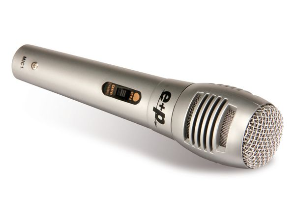Mikrofon mit Klinken-Anschlusskabel - Produktbild 1