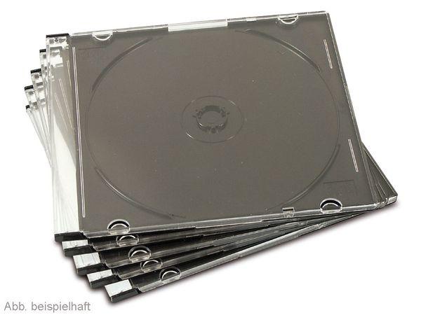 CD-Leerhüllen einfach, Slim Case