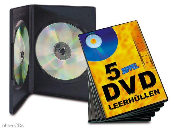 DVD-Leerhüllen - doppelt