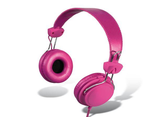 On-Ear Headset HAMA Joy, pink