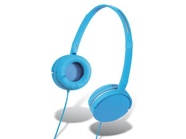 On-Ear Headset HAMA Joy Slim, blau
