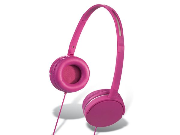 On-Ear Headset HAMA Joy Slim, pink
