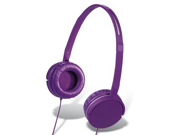 On-Ear Headset HAMA Joy Slim, lila