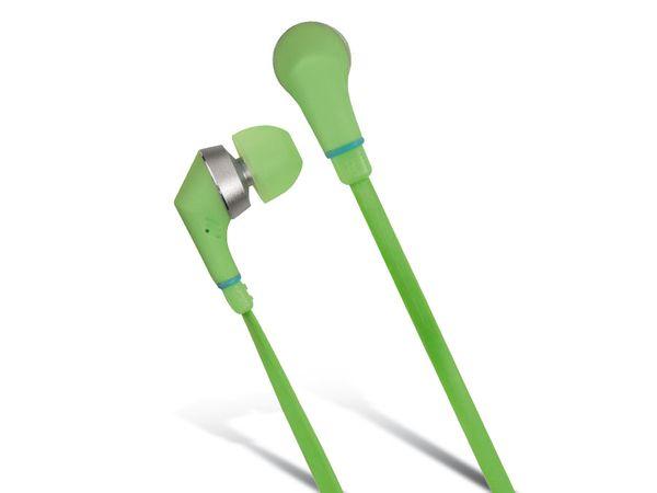 In-Ear Headset HAMA Joy, flach, grün