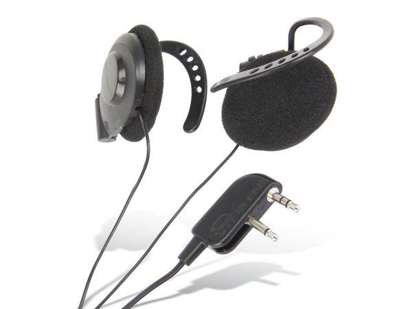 Ohrbügel-Kopfhörer mit Flugzeugstecker