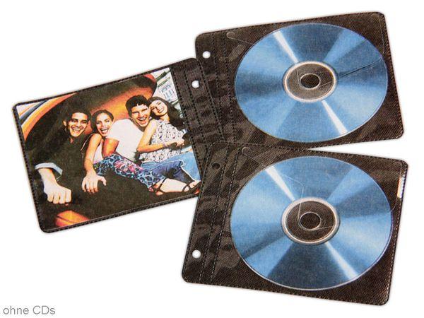 CD/DVD-Schutzhüllen für Ringbücher, 50 Stück - Produktbild 1