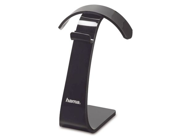 Halterung für Kopfhörer HAMA 122050, schwarz - Produktbild 1