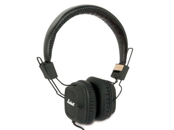 Kopfhörer MARSHALL MAJOR, schwarz - Produktbild 1