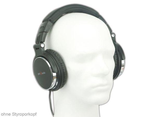 DJ-Kopfhörer GEMBIRD MHP-YUL-BK MONTREAL - Produktbild 1