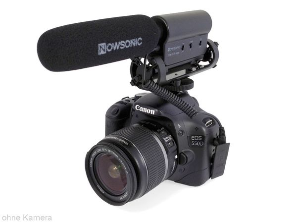Kamera-Mikrofon NOWSONIC KAMIKAZE - Produktbild 1