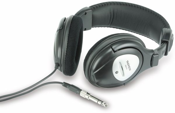 Stereo-Kopfhörer THOMSON HED415N, schwarz - Produktbild 1
