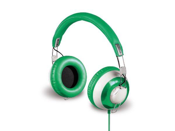 """HAMA Over-Ear-Stereo-Kopfhörer """"Donut"""", Green Pepper - Produktbild 1"""