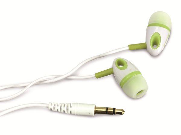 Stereo-Ohrhörer AHA, weiß/grün