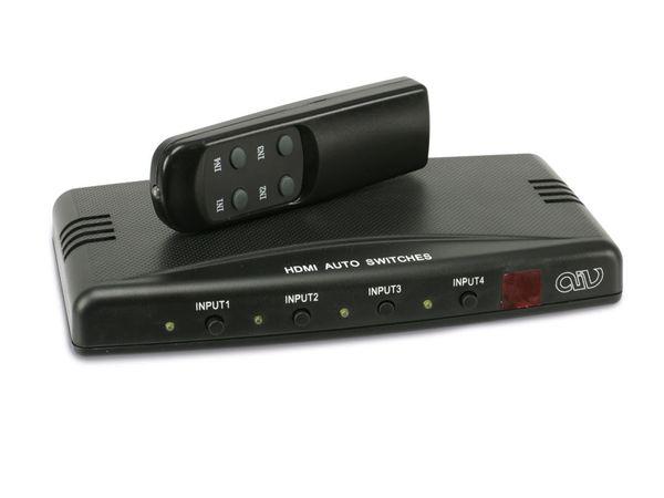 4-Port HDMI-Umschalter - Produktbild 1