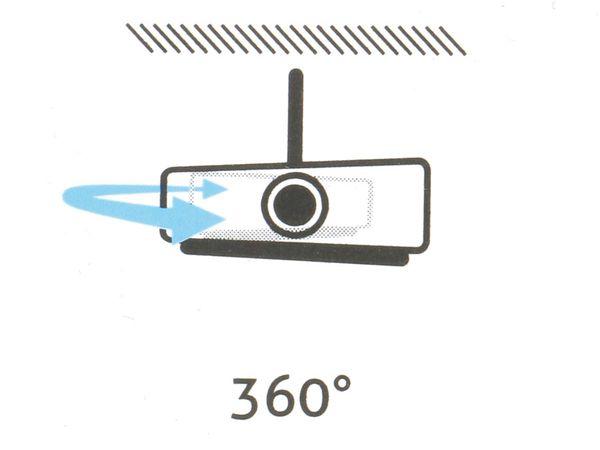 Beamer-Deckenhalterung PUREMOUNTS PM-Spider-Plus, 180...310mm, weiß - Produktbild 3