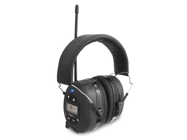 Gehörschutz-Kopfhörer ION Tough Sounds, mit Bluetooth und Radio
