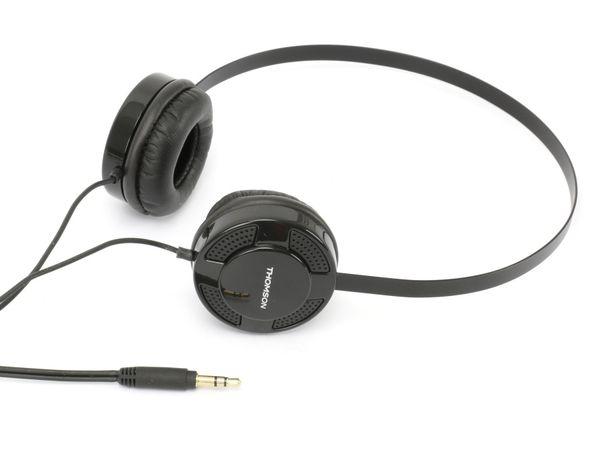 Stereo-Kopfhörer THOMSON HED1123BK, schwarz - Produktbild 1
