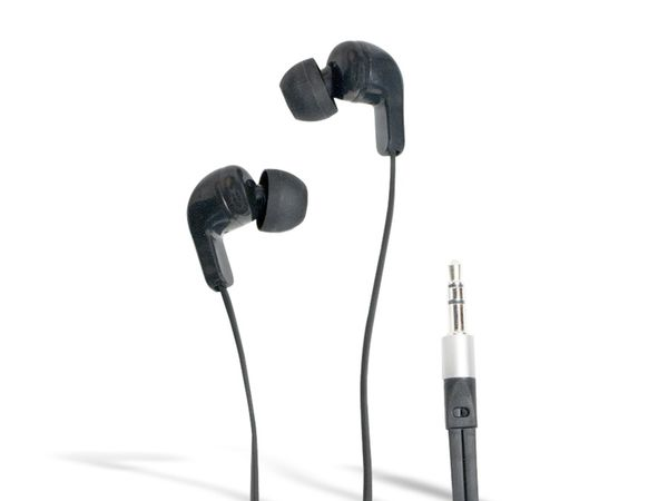 Stereo-Ohrhörer LOGILINK HS0038, In-Ear, schwarz - Produktbild 1