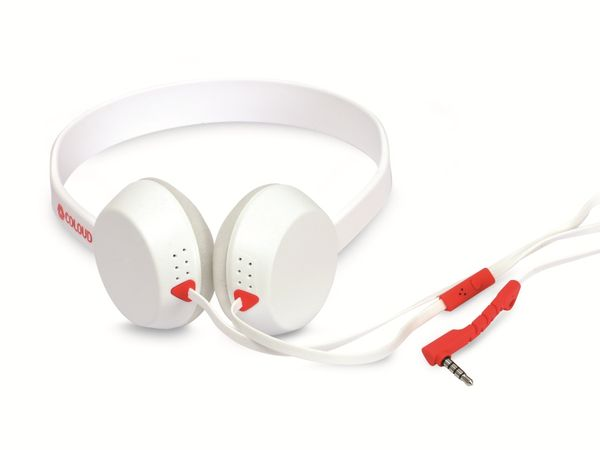 Headphone COULOUD THE KNOCK BLOCKS WHITE - Produktbild 1